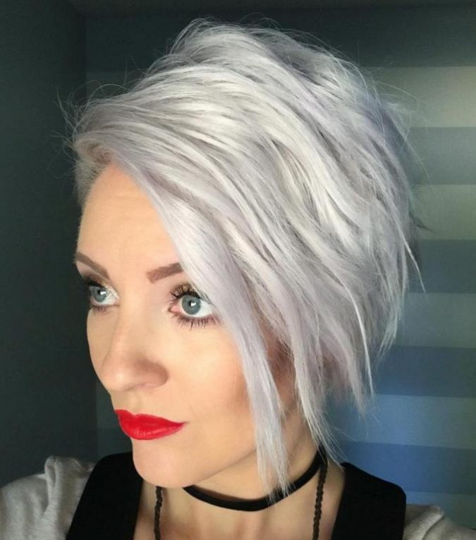 Assymetrical-hair-675x766 Best 2020 hairstyles for straight thin hair - Give it FLAIR!