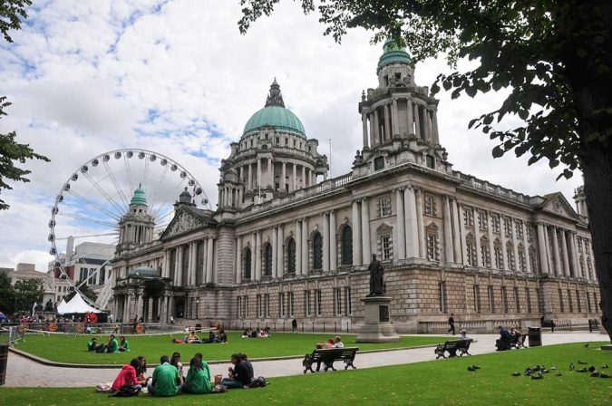 Belfast-City-Hall-and-Big-Wheel-675x448 20 Places to Explore for an Enchanting Holiday