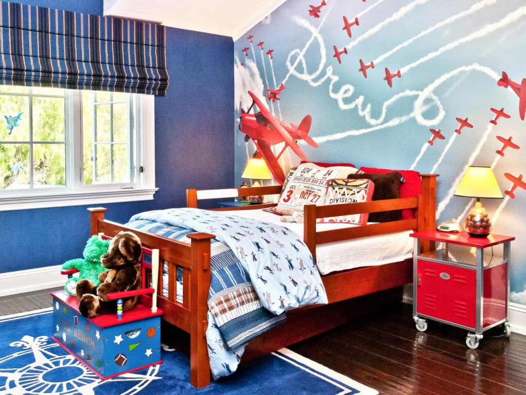 Choose-wallpapers-according-to-the-bedroom-theme-1024x768 Top 10 Exclusive Tips to Decorate Your Kids Room