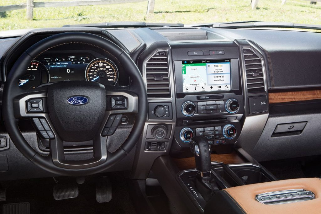 Ford-f150-interior-Connectivity-1024x682 Top 10 Reasons Ford F150 Truck Will Help Your Luxury Lifestyle in 2018