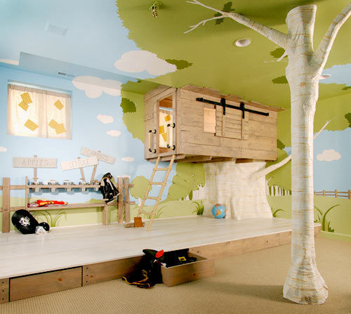 Have-fun-with-the-ceiling-d¬cor Top 10 Exclusive Tips to Decorate Your Kids Room