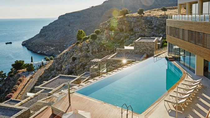 Lindos-blu-hotel-Greece-675x380 The 8 Most Luxurious Hotels in the World