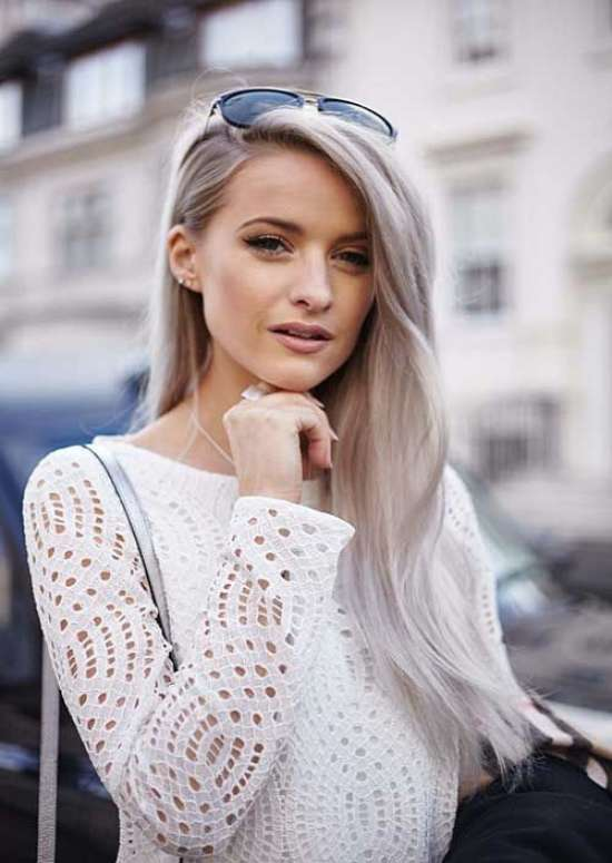 ash-long-hairstyle Best 2018 hairstyles for straight thin hair - Give it FLAIR!