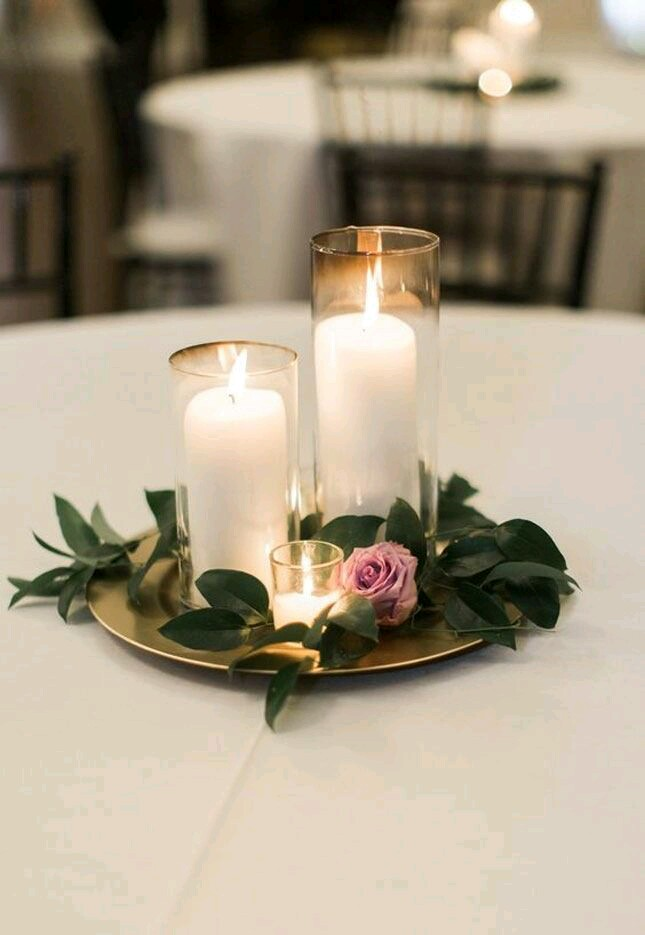 candles 16 Creative Ideas for Hosting Party in Small Spaces