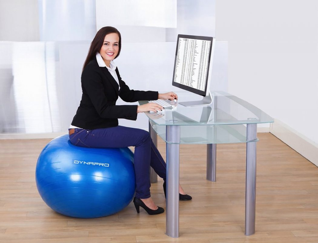exercise-ball-chair Benefits of using Yoga Ball Chair for your Home or Office