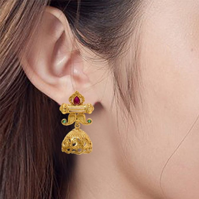 glossy-golden-artistic-earrings-675x675 18 New Jewelry Trends for This Summer
