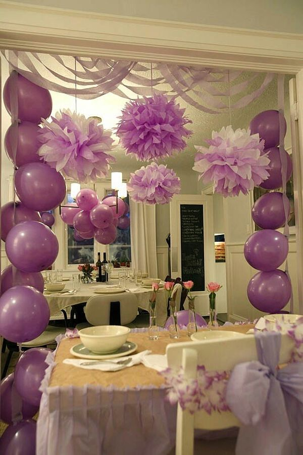 home-party-baby-shower-themed-ballons 16 Creative Ideas for Hosting Party in Small Spaces