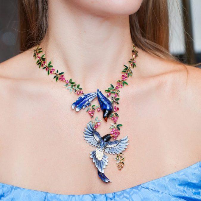 intricate-necklace-Ilgiz-Fazulzyanov_GEMOLOGUE_Liza-Urla_Annoushka_Kremlin_Russian-Jewelry-675x675 18 New Jewelry Trends for This Summer