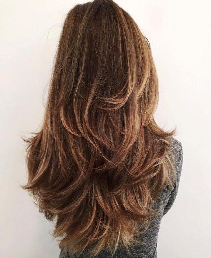 long-shag-haircut-675x825 Best 2020 hairstyles for straight thin hair - Give it FLAIR!