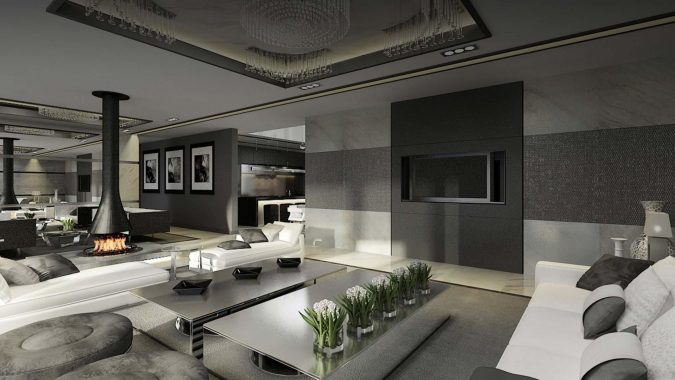 luxury-interior-design-living-room-675x380 15+ Top Modern House Interior Designs for 2019!