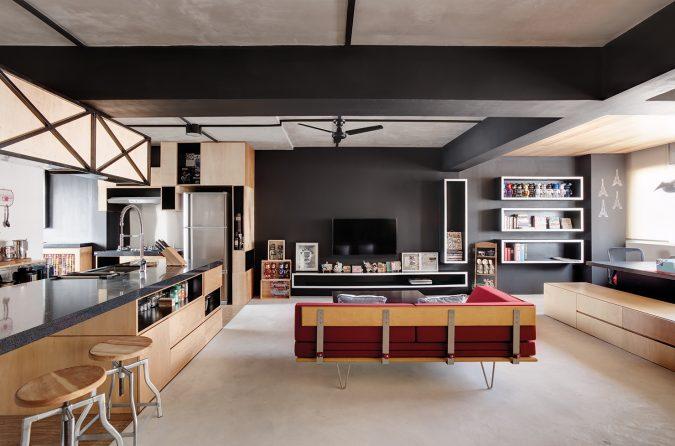 modern-home-interior-design-no-internal-walls-675x446 15+ Top Modern House Interior Designs for 2021