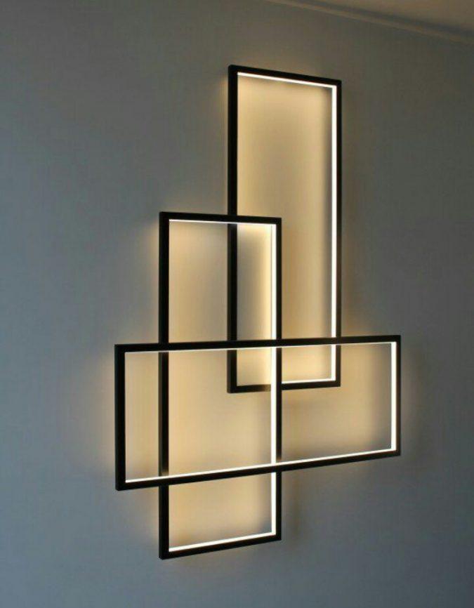 modern-interior-design-wall-art-675x866 15+ Top Modern House Interior Designs for 2020