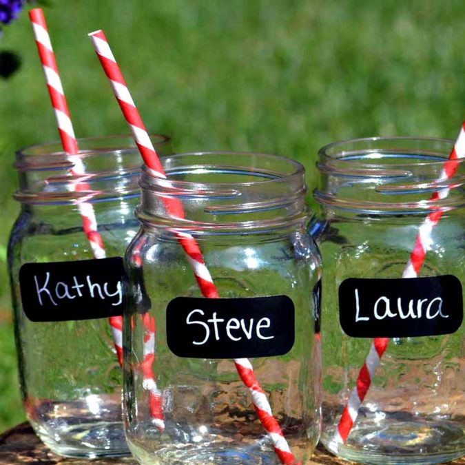 party-labeled-jars-675x675 16 Creative Ideas for Hosting Party in Small Spaces