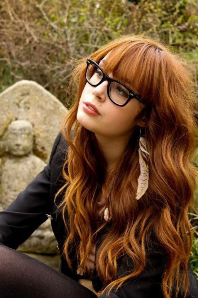 red-layered-weavy-hair-675x1013 Best 2018 hairstyles for straight thin hair - Give it FLAIR!