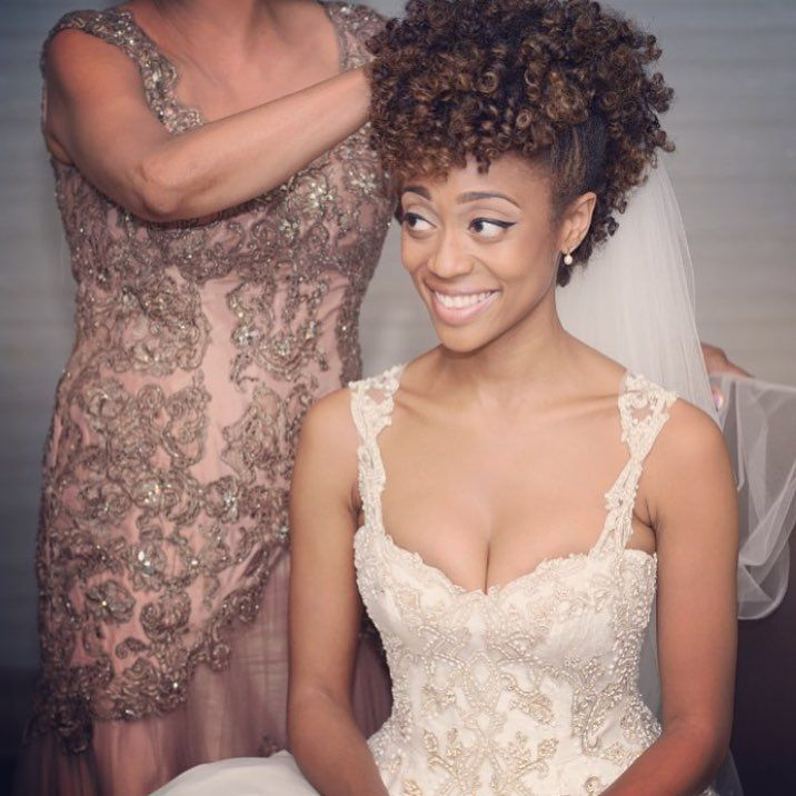 Curly-Queen2 12 Wedding Day Killer Hairstyles for Curly Hair