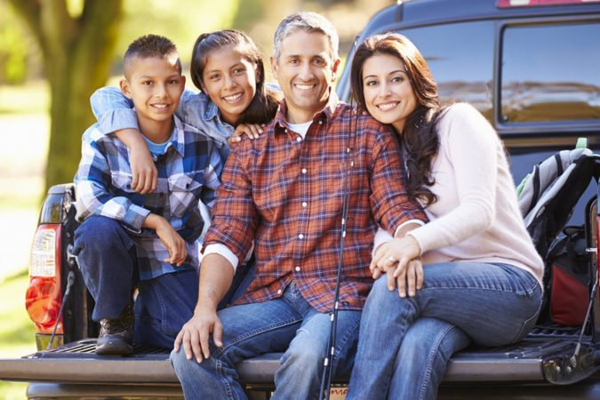 Family-on-tray-utes-Toyota-HiLux-675x450 7 Reasons Why Toyota HiLux sets new sales record