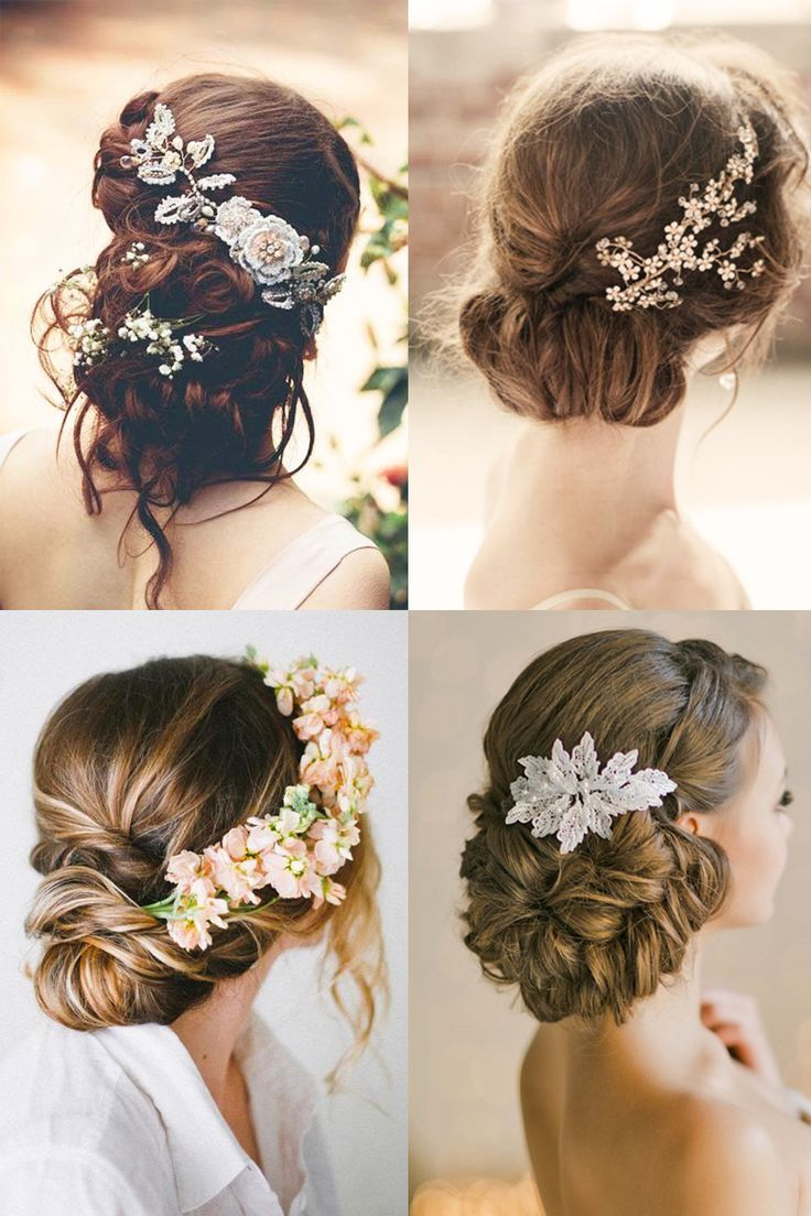 Fancy-Bridal-Updo-wedding-hairstyles 12 Wedding Day Killer Hairstyles for Curly Hair