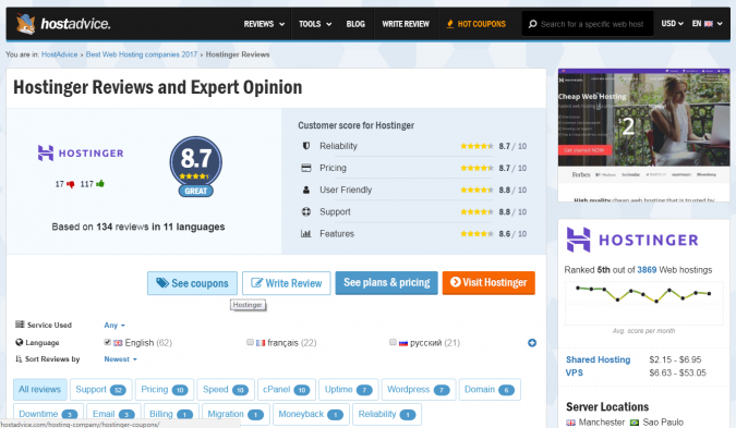 Hostinger-reviews-675x393 Hostinger Review [Pros & Cons]: Affordability Combined with Quality Services