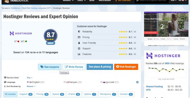Photo of Hostinger Review [Pros & Cons]: Affordability Combined with Quality Services