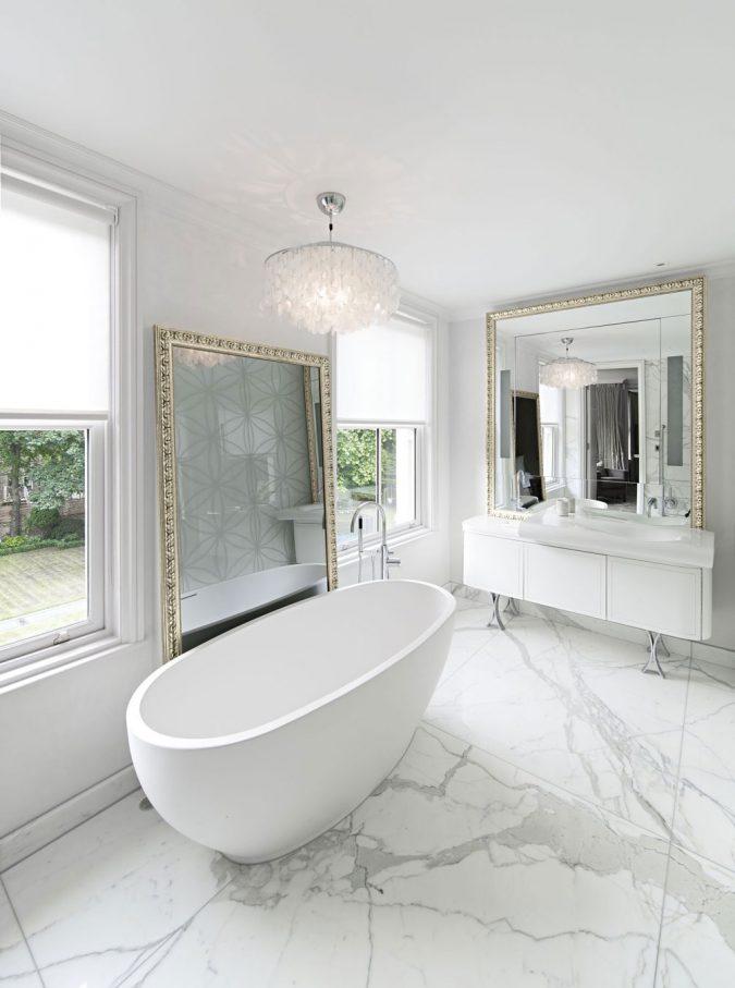 Marble-Bathroom-Design-Ideas-675x907 7 Unique Ways to Get Luxury Hotel Bathroom at Home