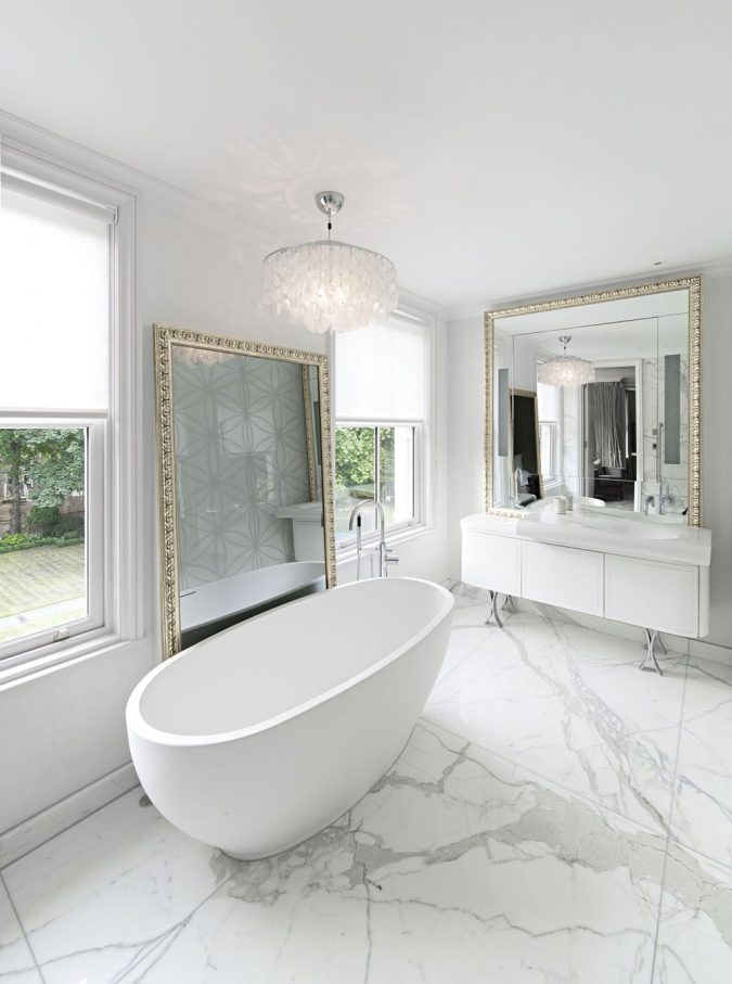 Marble-Bathroom-Design-Ideas-675x907 7 Unique Ways to Get Luxury Hotel Bathroom at Home