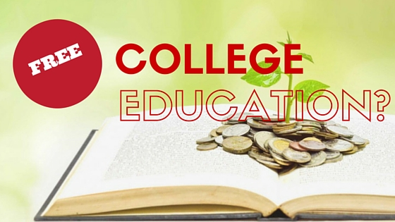 should college education be free in This is about free college tuition and my opinion of why it should be given a college education has become a necessity in today's society students throughout the country are concentrating on their academics and are endeavoring to receive perfect grades financing each student's education has.