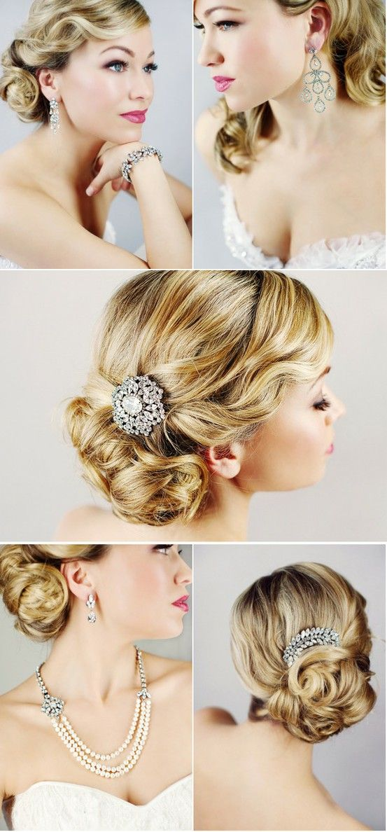The-Hollywood-Fame 12 Wedding Day Killer Hairstyles for Curly Hair