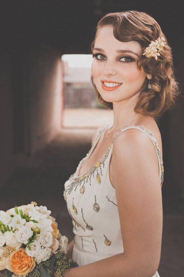 The-Hollywood-Fame1 12 Wedding Day Killer Hairstyles for Curly Hair