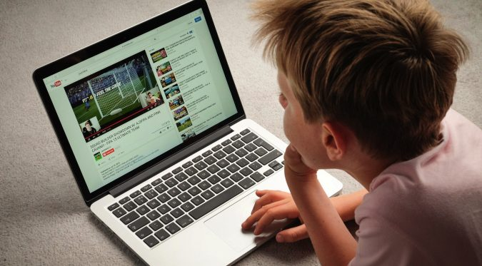 boy-watching-youtube-on-laptop-675x373 4 Parenting Tips for Non-Tech Savvy Parents