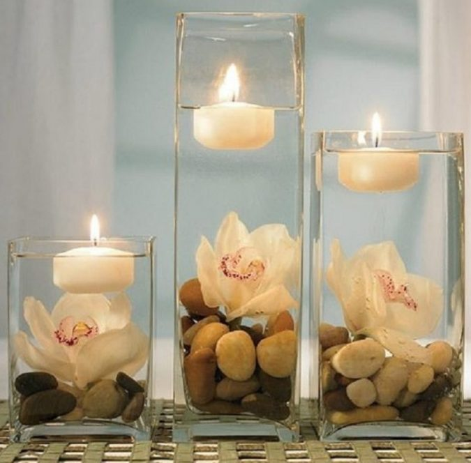 candels-in-bathroom-675x664 7 Unique Ways to Get Luxury Hotel Bathroom at Home