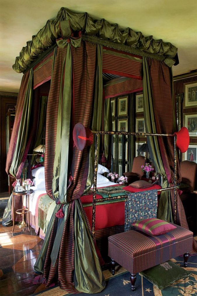 canopy-bed-bedroom-designs-675x1014 Canopy Beds through History... 35+ Bedroom Designs