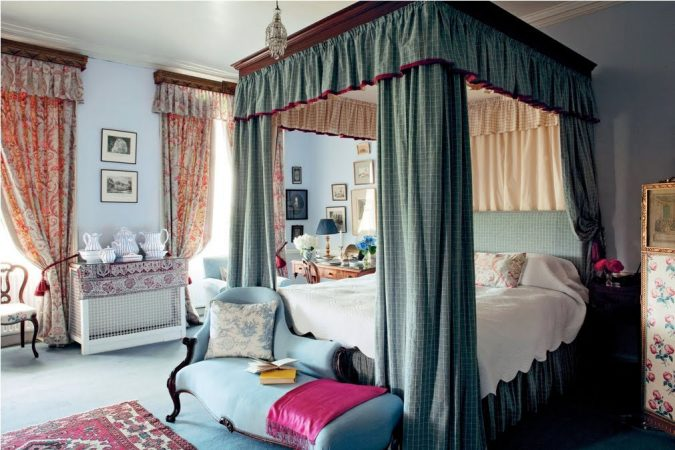 canopy-bed-bedroom-interior-design-9-675x450 Canopy Beds through History... 35+ Bedroom Designs