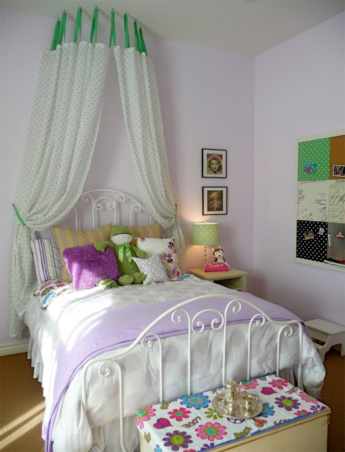 canopy-bed-children-bedroom-3-675x886 Canopy Beds through History... 35+ Bedroom Designs