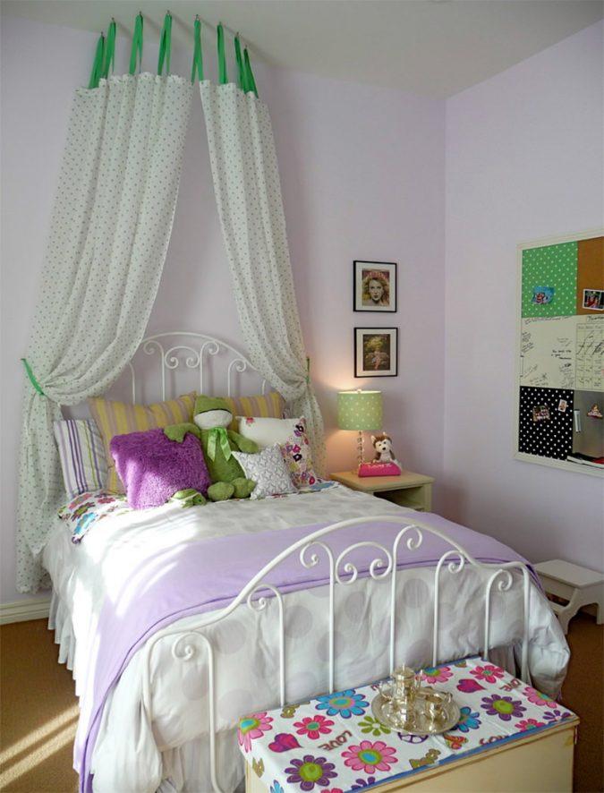 canopy-bed-children-bedroom-3-675x886 Canopy Beds through History... 35+ Bedroom Designs