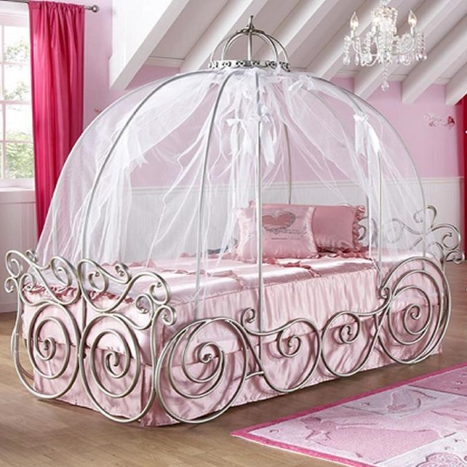 canopy-bed-children-bedroom-675x675 Canopy Beds through History... 35+ Bedroom Designs