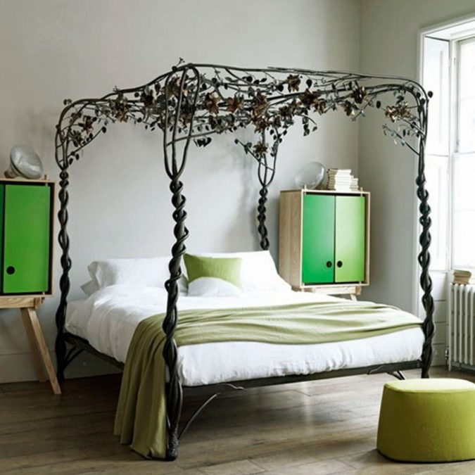 canopy-bed-modern-bedroom-interior-desigm-675x675 Canopy Beds through History... 35+ Bedroom Designs