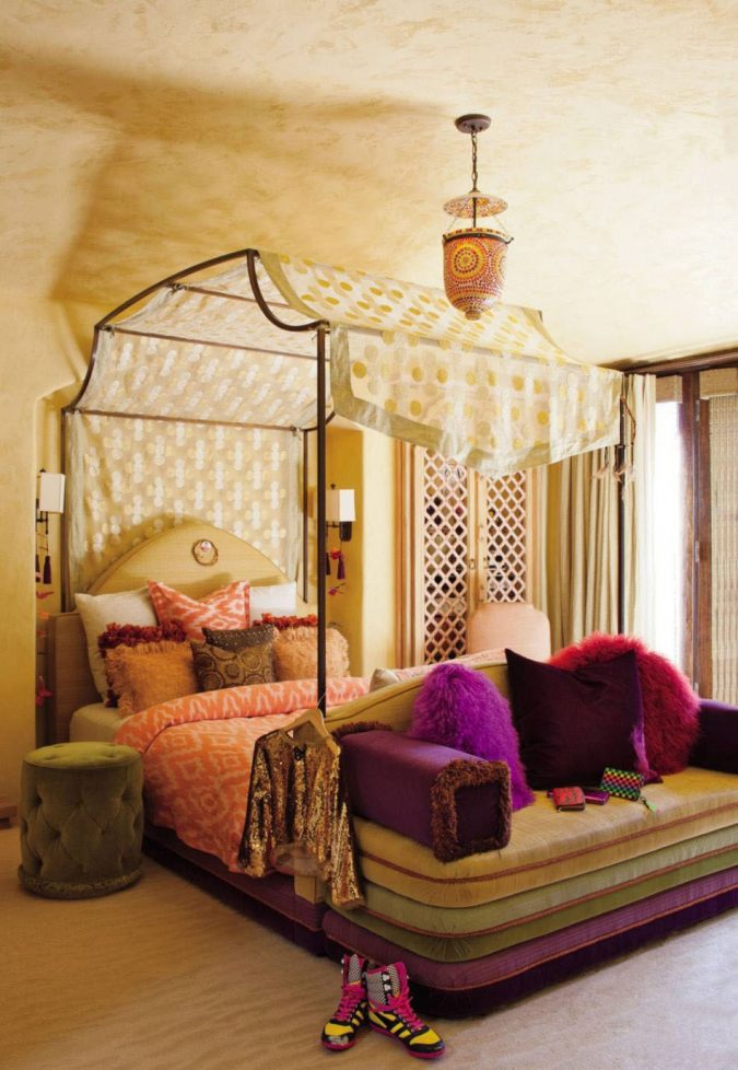 canopy-bedroom-675x978 Canopy Beds through History... 35+ Bedroom Designs