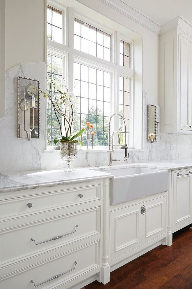 classic-white-kitchen-2 Top 10 Best White Bright Kitchen Design Ideas