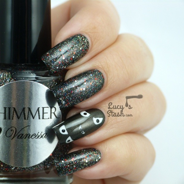 halloween-nail-ideas-100 89+ Seriously Spooky Halloween Nail Art Ideas
