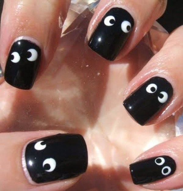 halloween-nail-ideas-114 89+ Seriously Spooky Halloween Nail Art Ideas