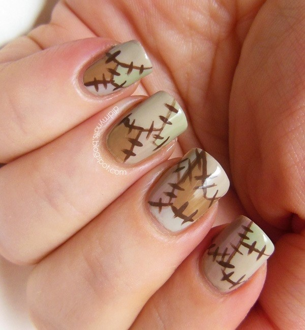halloween-nail-ideas-121 89+ Seriously Spooky Halloween Nail Art Ideas