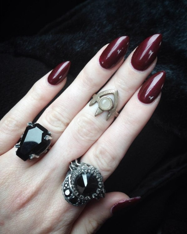 halloween-nail-ideas-135 89+ Seriously Spooky Halloween Nail Art Ideas