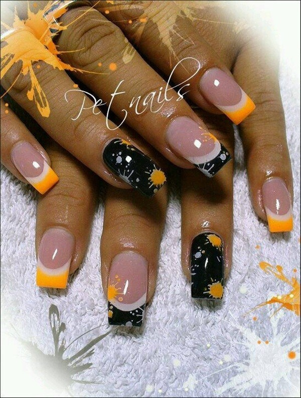 halloween-nail-ideas-142 89+ Seriously Spooky Halloween Nail Art Ideas