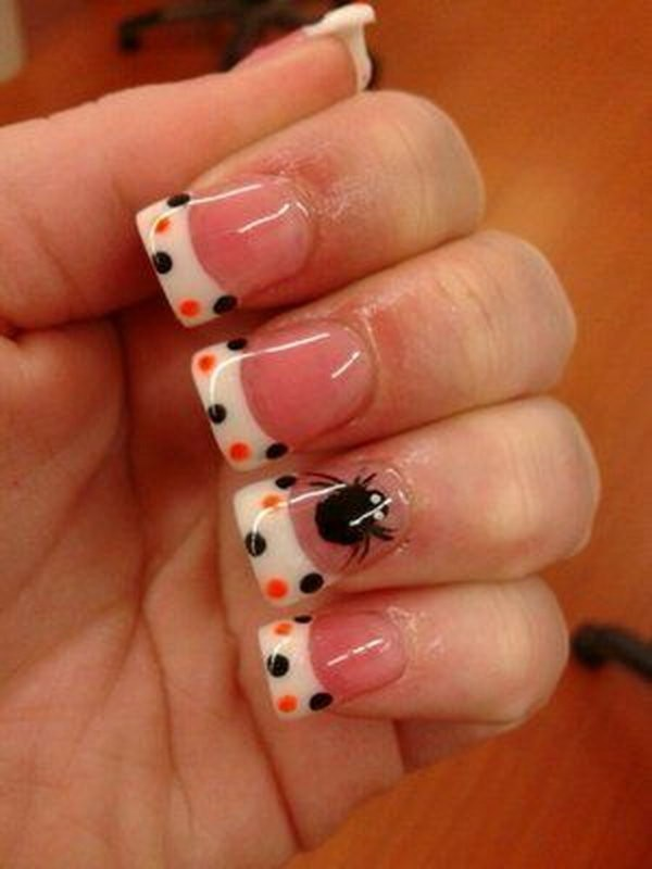 halloween-nail-ideas-149 89+ Seriously Spooky Halloween Nail Art Ideas