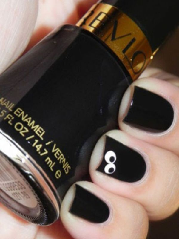 halloween-nail-ideas-151 89+ Seriously Spooky Halloween Nail Art Ideas