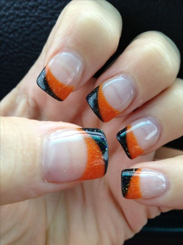 halloween-nail-ideas-153 89+ Seriously Spooky Halloween Nail Art Ideas