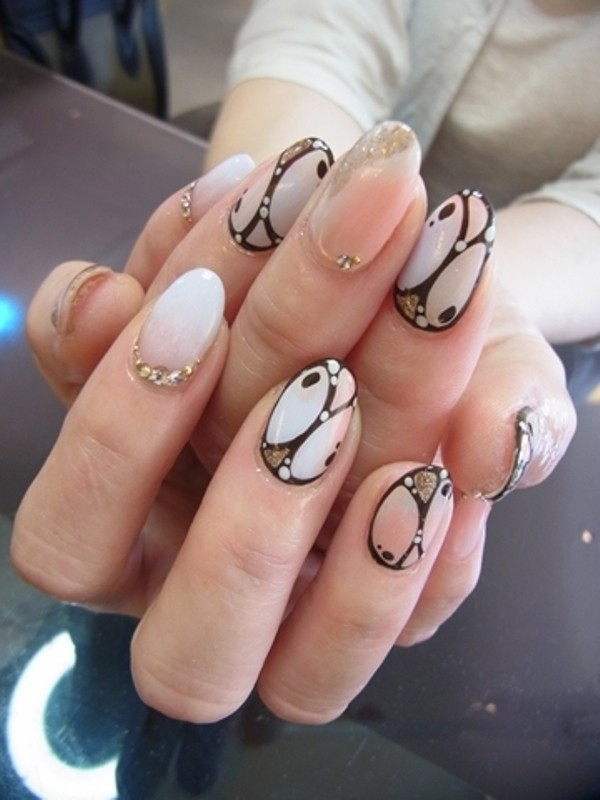 halloween-nail-ideas-155 89+ Seriously Spooky Halloween Nail Art Ideas