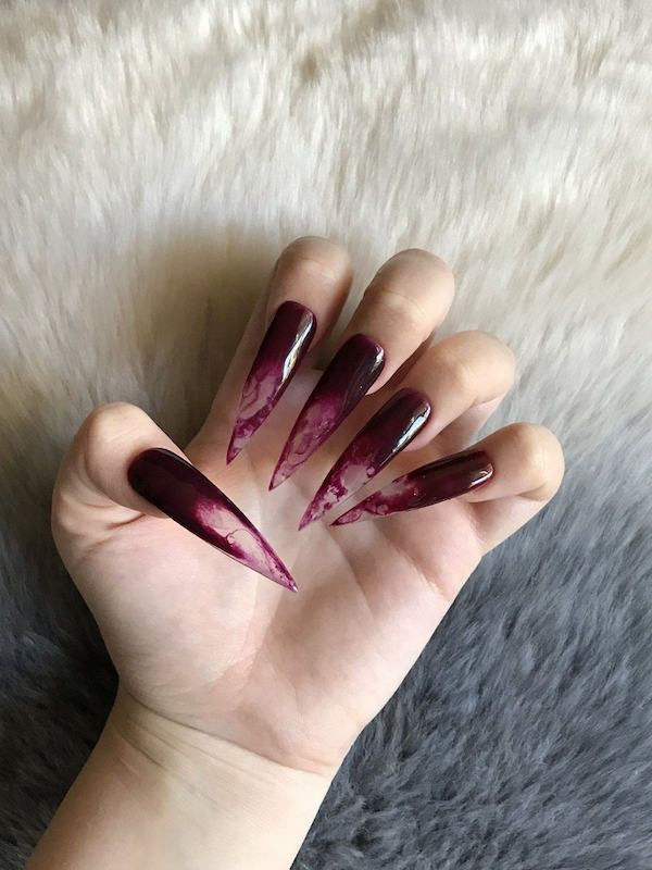 halloween-nail-ideas-158 89+ Seriously Spooky Halloween Nail Art Ideas