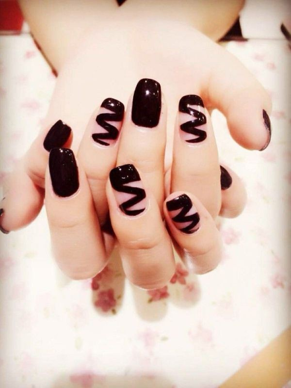 halloween-nail-ideas-164 89+ Seriously Spooky Halloween Nail Art Ideas
