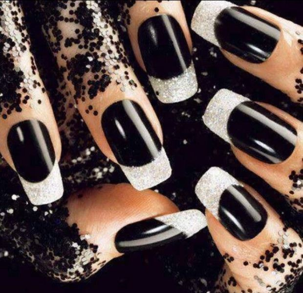 halloween-nail-ideas-174 89+ Seriously Spooky Halloween Nail Art Ideas